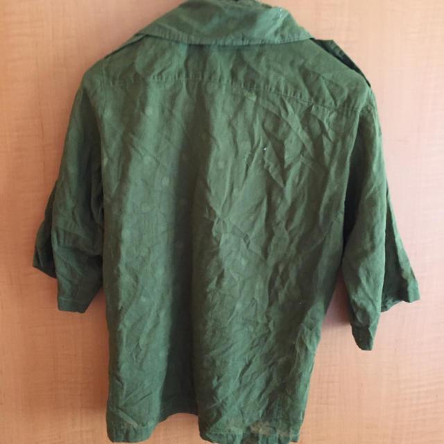 GERM(ジャーム)のgerm ミリタリーシャツ メンズのトップス(シャツ)の商品写真