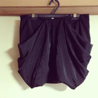 レッドウィング(REDWING)のミニ丈ドレープスカート(ミニスカート)