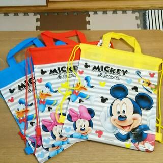 ディズニー(Disney)のミッキーマウス ナップサック 体操服バッグ  体操服入れ(体操着入れ)