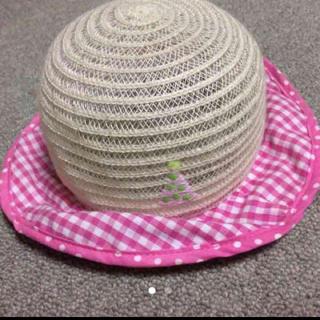 アンパサンド(ampersand)の美品♡ベビー麦わら帽子(帽子)