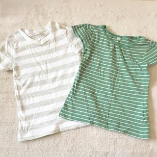 ムジルシリョウヒン(MUJI (無印良品))の無印良品 キッズTシャツセット 90 プチバトー (Tシャツ/カットソー)
