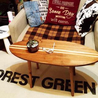サーフボードテーブル 🏄 ロンハーマンや男前インテリア、サーフィンがお好きな方(ローテーブル)