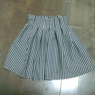 アクアネーム(AquaName)のギンガムチェック★スカート(ミニスカート)