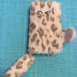ファーファー(fur fur)のFURFUR モコモコネコのiPhoneケース(iPhoneケース)