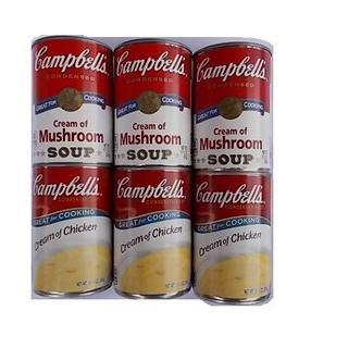 ☆キャンベルスープ(クリームチキン3缶)(マッシュルーム3缶)(缶詰/瓶詰)