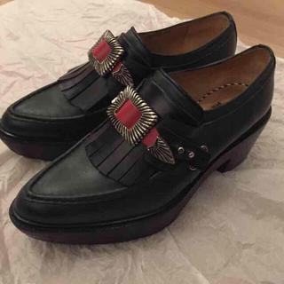 トーガ(TOGA)のtoga pulla 2015aw 厚底ソール ローファー(ローファー/革靴)