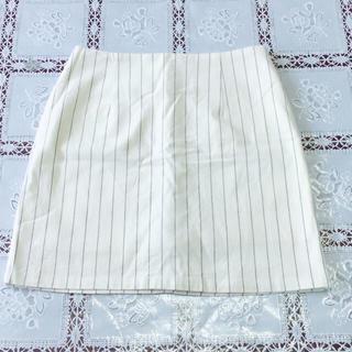 マーキュリーデュオ(MERCURYDUO)の☆新品☆MERCURY BIJOU☆ストライプ スカート☆(ミニスカート)