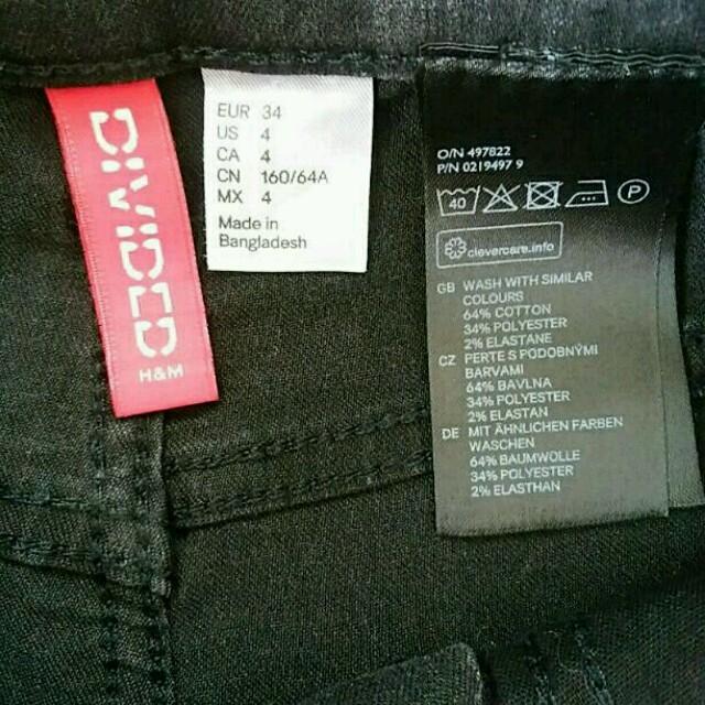 H&M(エイチアンドエム)の美品 H&M デニム ショートパンツ グレー 34 レディースのパンツ(ショートパンツ)の商品写真