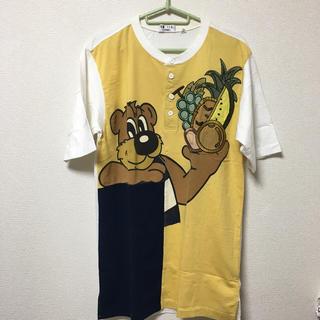 バジエスポーツ(VAGIIE SPORT)のVAZIIE ベアーワンピース/ロング丈Tシャツ(Tシャツ/カットソー(半袖/袖なし))