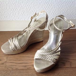 ラルフローレン(Ralph Lauren)の値下げ❗️RALPH LAUREN本革サンダルUS5(22~22.5cm) (サンダル)