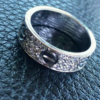 カルティエ(Cartier)のカルティエラブリングWGフルダイヤ(リング(指輪))