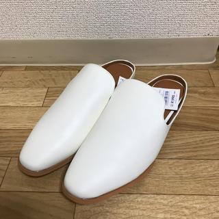 ジーユー(GU)のGU*バブーシュ Lサイズ(ローファー/革靴)