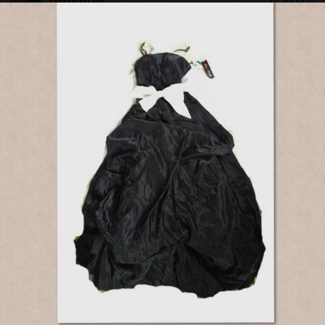 新品タグ付き黒ドレス レディースのフォーマル/ドレス(その他ドレス)の商品写真