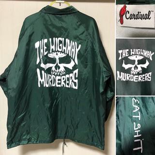 スイサダルテンデンシーズ(SUICIDAL TENDENCIES)の新品同様❗️THE HIGHWAY MURDERERS コーチジャケット 緑(ナイロンジャケット)