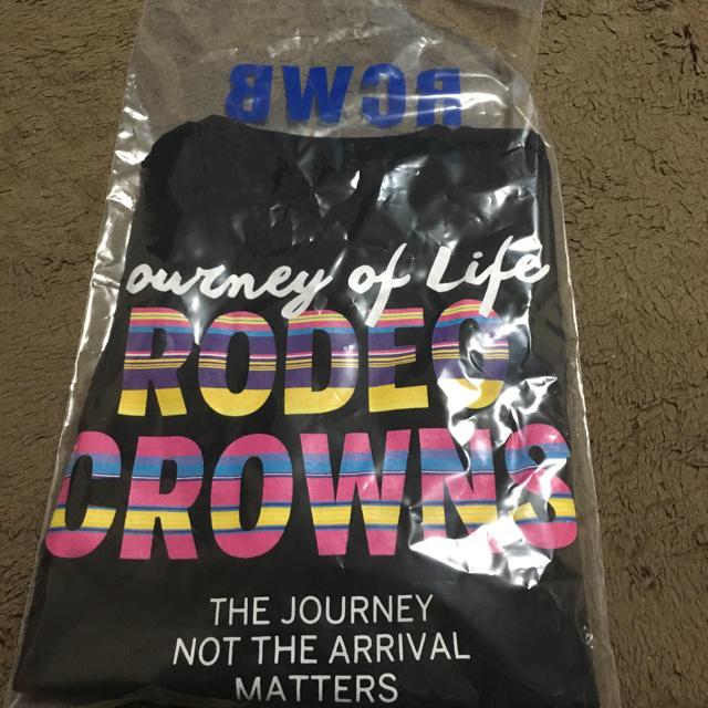 RODEO CROWNS WIDE BOWL(ロデオクラウンズワイドボウル)のメンズカラフルボーダーVネックTシャツXL メンズのトップス(Tシャツ/カットソー(半袖/袖なし))の商品写真