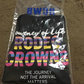 ロデオクラウンズワイドボウル(RODEO CROWNS WIDE BOWL)のメンズカラフルボーダーVネックTシャツXL(Tシャツ/カットソー(半袖/袖なし))
