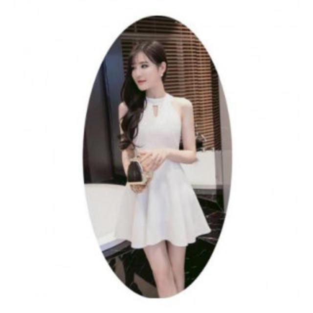 キャバクラドレス ミニワンピース ナイトドレス パーティードレス ホワイト S】 レディースのフォーマル/ドレス(ミニドレス)の商品写真