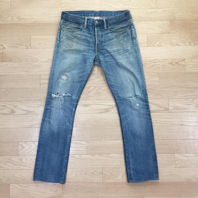 RRL(ダブルアールエル)のダブルアールエルデニムパンツラルフ27メンズralphRRLランチフィットブルー メンズのパンツ(デニム/ジーンズ)の商品写真
