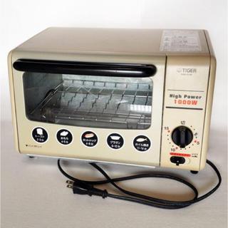 タイガー(TIGER)のTigerタイガーオーブントースター<やきたて>品番KAA-C100(調理機器)
