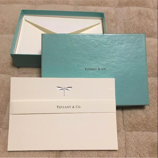 pretty nice 233ea 35457 【新品未使用】TIFFANY & Co. ティファニー レターセット | フリマアプリ ラクマ