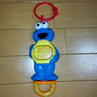 セサミストリート(SESAME STREET)の30日まで値下1800→1100 セサミ クッキーモンスター ベビーカー玩具(キャラクターグッズ)