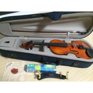 スズキ(スズキ)の値下げ中!スズキバイオリン1/2新品同様フルセット2016製アウトフィット230(ヴァイオリン)