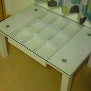 ホワイト テーブル(ローテーブル)