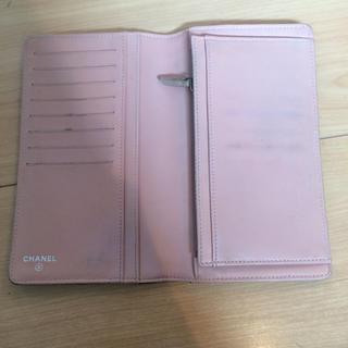 CHANEL(シャネル)の正規品 シャネル 長財布 ブラック シール有り レディースのファッション小物(財布)の商品写真