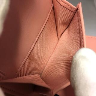 CHANEL(シャネル)のラブ様シャネル ラムスキン ピンク コンパクト折り財布 24番台 ギャラ有  レディースのファッション小物(財布)の商品写真