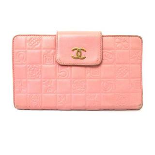 CHANEL(シャネル)のCHANELアイコンピンク財布 レディースのファッション小物(財布)の商品写真