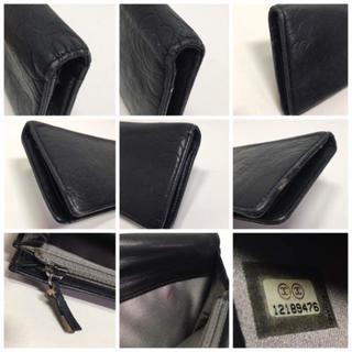 CHANEL(シャネル)のCHANEL シャネル カメリア レザー 長財布 ブラック レディースのファッション小物(財布)の商品写真