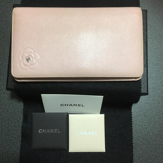 CHANEL(シャネル)のカメリアの長財布! レディースのファッション小物(財布)の商品写真