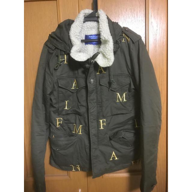 HALFMAN(ハーフマン)のHalfman ボアミリタリ ハーフマン メンズのジャケット/アウター(ミリタリージャケット)の商品写真
