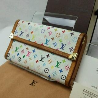LOUIS VUITTON(ルイヴィトン)のヴィトン 三つ折り 長財布 マルチ 財布 レディースのファッション小物(財布)の商品写真
