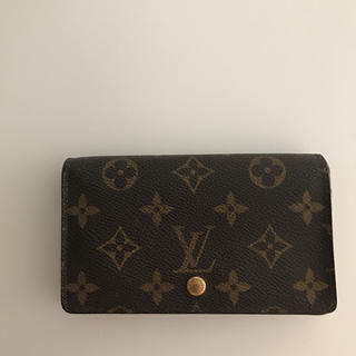 LOUIS VUITTON(ルイヴィトン)の廃盤レア♡ルイヴィトン トレゾール お財布 正規品♡ヒルトンプラザ購入 レディースのファッション小物(財布)の商品写真
