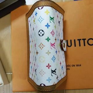 LOUIS VUITTON(ルイヴィトン)のルイヴィトンマルチカラー折り財布ポルトモネピエヴィエノワ レディースのファッション小物(財布)の商品写真