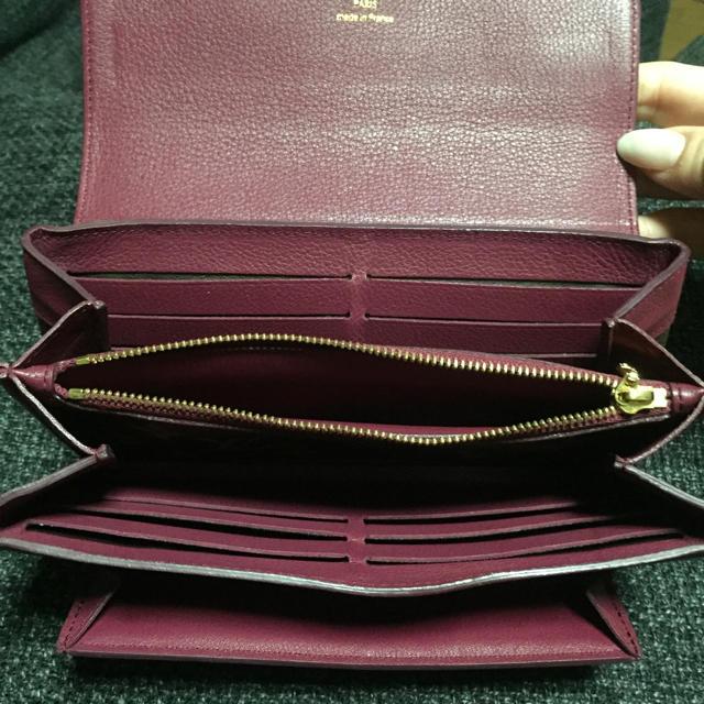 LOUIS VUITTON(ルイヴィトン)の週末限定価格 LouisVuitton ポルトフォイユエリゼ・オロール 正規品 レディースのファッション小物(財布)の商品写真