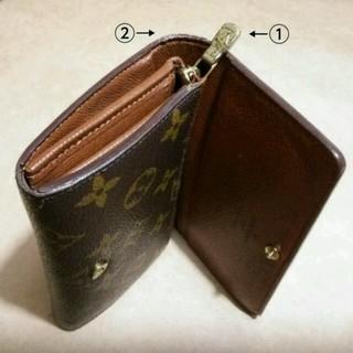 LOUIS VUITTON(ルイヴィトン)のルイヴィトンモノグラム☆L字ファスナー二つ折財布【明日 元の値段に戻します】 レディースのファッション小物(財布)の商品写真