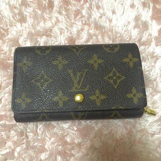 LOUIS VUITTON(ルイヴィトン)のルイヴィトン♡折財布 レディースのファッション小物(財布)の商品写真