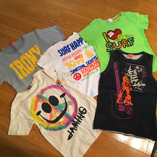 アイロニー(IRONY)のサーフ系 Tシャツ 5点セット(Tシャツ(半袖/袖なし))