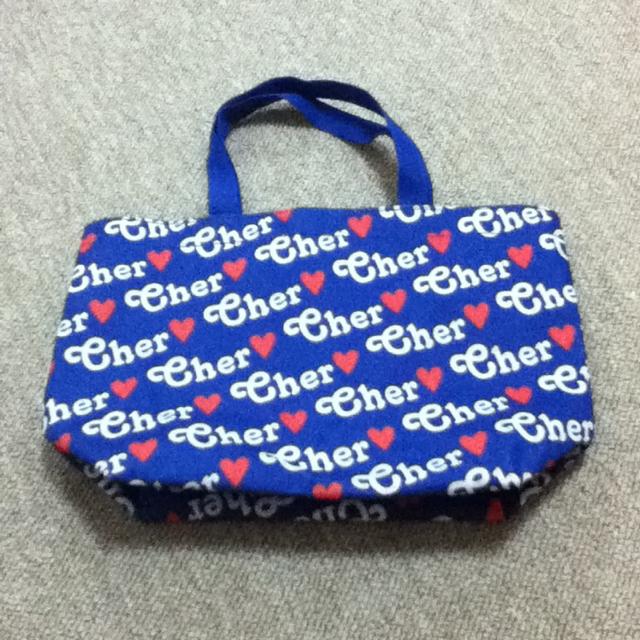 Cher(シェル)のcherのバッグ(送料込) レディースのバッグ(トートバッグ)の商品写真