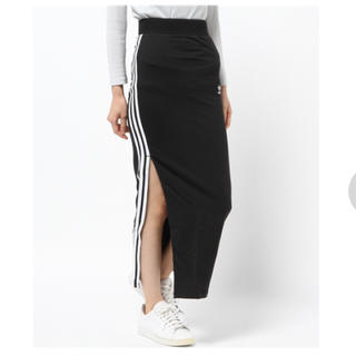 アディダス(adidas)のadidas スリットロングスカート(ロングスカート)