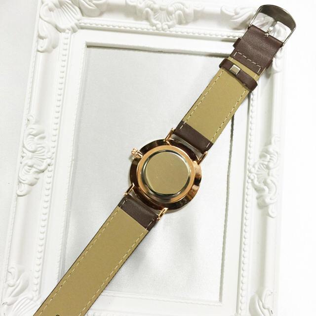 ドラマで♡キャメルゴールド 高級腕時計レディース  レディースのファッション小物(腕時計)の商品写真