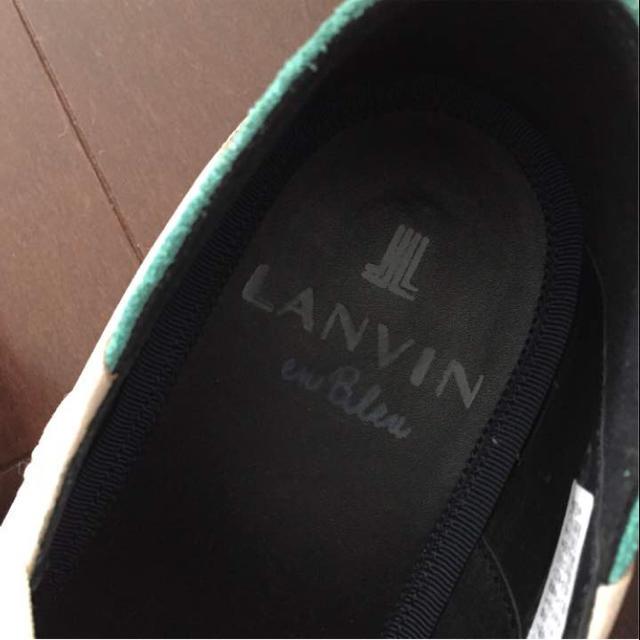 LANVIN(ランバン)のランバン ドレスシューズ 24.5 メンズの靴/シューズ(ドレス