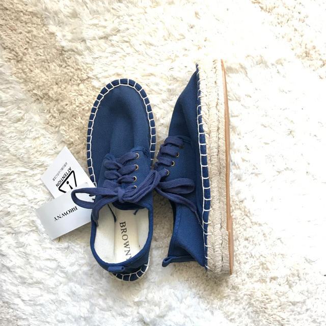 WEGO(ウィゴー)の新品!wego エスパドリーユ 靴 スニーカー シューズ レディースの靴/
