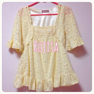 ロジータ(ROJITA)のRojita総レースチュニック(チュニック)