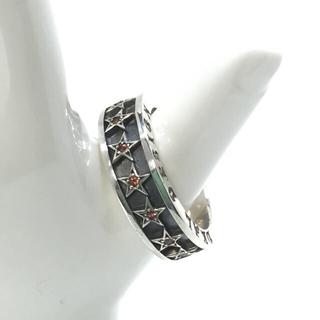 DEAL DESIGN スターリング オレンジガーネット silver925美品(リング(指輪))