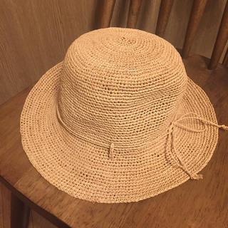 ムジルシリョウヒン(MUJI (無印良品))の【美品】無印良品 たためる 帽子(麦わら帽子/ストローハット)