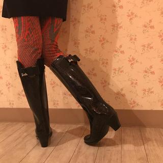 シマムラ(しまむら)のレインブーツ ♡バービーコラボ♡(レインブーツ/長靴)