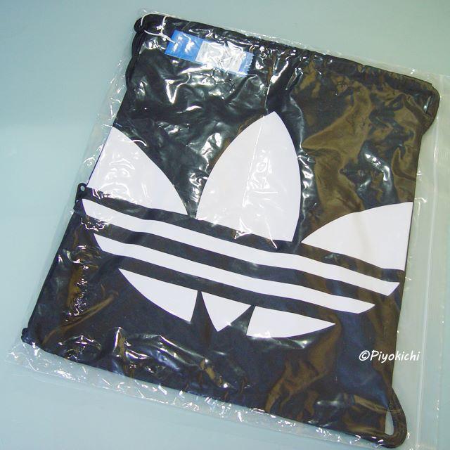 adidas(アディダス)の【新品・即納OK】adidas オリジナルス ナップサック ジムサック 黒 メンズのバッグ(バッグパック/リュック)の商品写真
